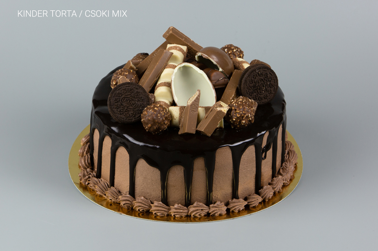 Kinder torta_Csoki mix